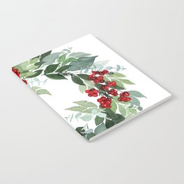 Holly Berry Notebook