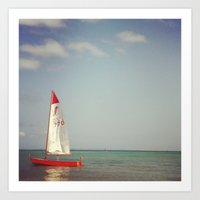 sail up Art Print