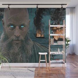 Ragnar Lothbrok Painting, King of the Northmen Wall Mural
