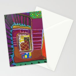 Stairs up to the Attic 1999 Stationery Cards