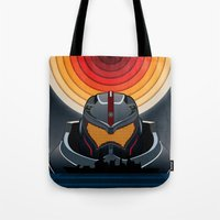 pacific rim Tote Bags featuring Pacific Rim by milanova