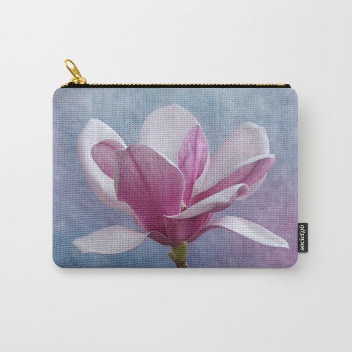 Studio Dalio - Pink Magnolia Flower Pouch