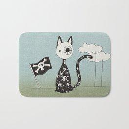 Just a Pirate Cat Bath Mat