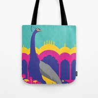 india Tote Bags featuring India by Kapil Bhagat