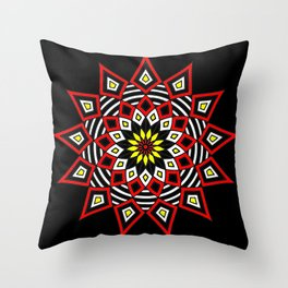 Stars Up to the Sky | Mandhala | Mother Star Throw Pillow