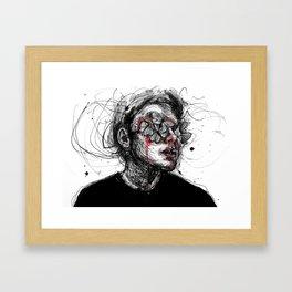 Deep wounds Framed Art Print