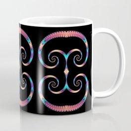 Rainbow Spirals Coffee Mug