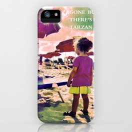 The dream is Gone. iPhone Case