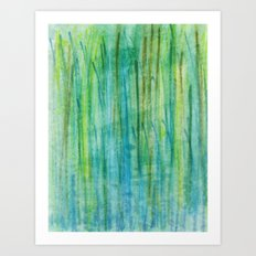 Growing Greener  Art Print