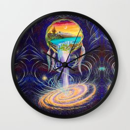 NW Roots Dreamcatcher Wall Clock