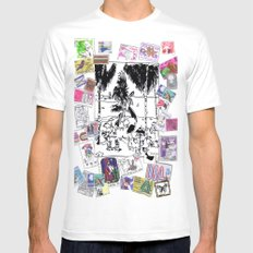 This is not Junk White MEDIUM Mens Fitted Tee