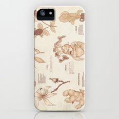 Herbology Reference Chart (Hogwarts) iPhone (5, 5s) Slim Case
