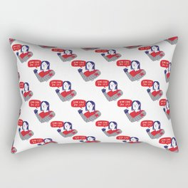 You Can Do It!  Rectangular Pillow