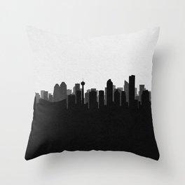 City Skylines: Calgary Throw Pillow