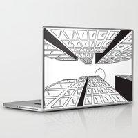 buildings Laptop & iPad Skins featuring Buildings by Koral Feria