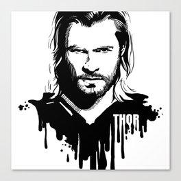 Fandom In Ink » Thor Canvas Print