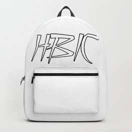 HBIC Retro Letters Backpack