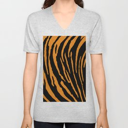 Tiger Stripes Unisex V-Neck
