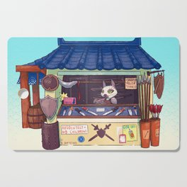 Weapons Shop - Siamese Cat Cutting Board