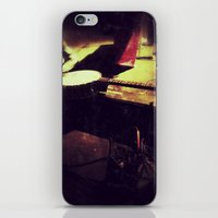 banjo iPhone & iPod Skins featuring Banjo by Peacockbutterfly  Art