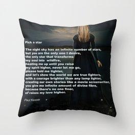 Pick A Star Throw Pillow