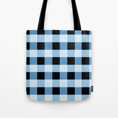 Blue Squares Tote Bag