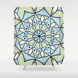 Mint Tea Shower Curtain