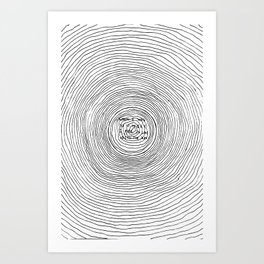 fell in love with the sun Art Print