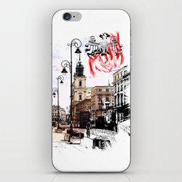 Poland - Krawkowskie Przedmiescie, Warsaw iPhone Skin