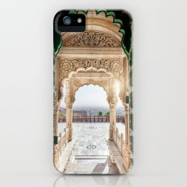 Jaswant Thada memorial in Rajasthan, India iPhone Case