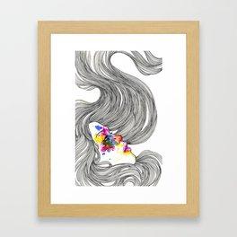 Cece Framed Art Print