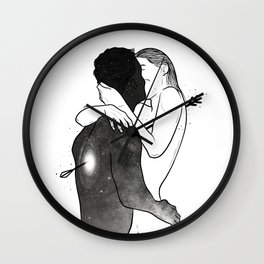 The love arrow. Wall Clock