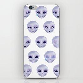 Alien Emotions iPhone Skin