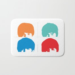 Fab 4 of Liverpool Bath Mat