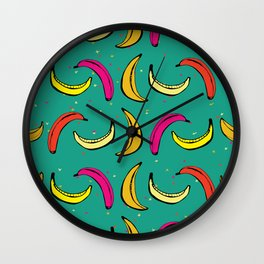 Tropic Banana Wall Clock