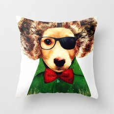 Dog ( Ben) Throw Pillow