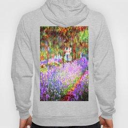 Monets Garden in Giverny Hoody