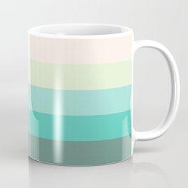 Soft Green Stripes Coffee Mug