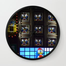 Osaka casino frontage Wall Clock