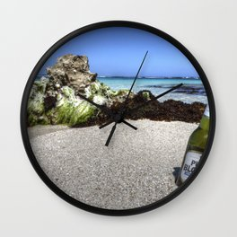 Pure Blonde Wall Clock