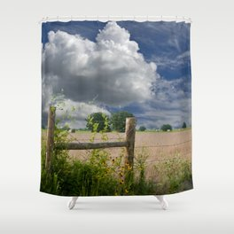 Farmland Shower Curtain