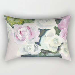Sugar Love Flowers Rectangular Pillow