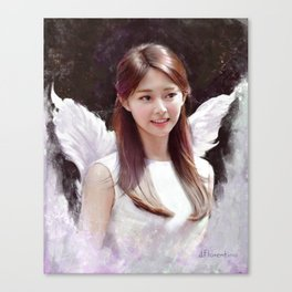 Angel Tzuyu Canvas Print