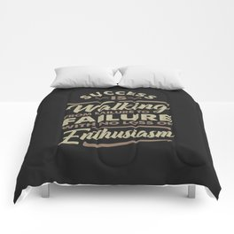 Success Is Walking - Motivational Comforters