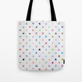 Everything and Everyone Tote Bag