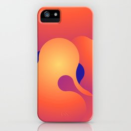Lava Lamp v.1 iPhone Case