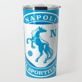 Naples Horse Football badge Travel Mug