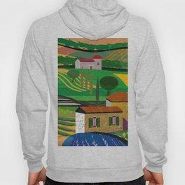 Farm House in fields Hoody