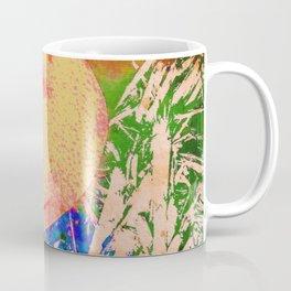 Mushrooms and Mulch Abstract Coffee Mug