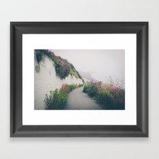 Ocean Fog 2 Framed Art Print